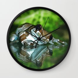 Amazon Milk Frog Wall Clock