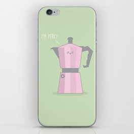 I'm Perky #kawaii #coffee iPhone Skin