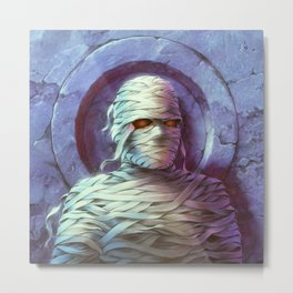The Curse of the Mummy's Tomb Metal Print