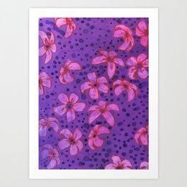 Predatory Petals Art Print