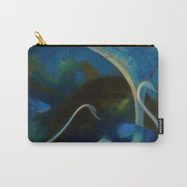 Swans (Night) Central Park, Gapstow Bridge New York by Joseph Stella Carry-All Pouch
