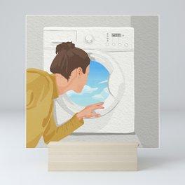 Dreaming of a Vacation Mini Art Print
