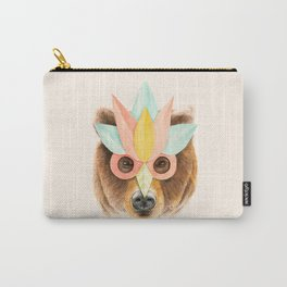 The Bear with the Paper Mask Carry-All Pouch
