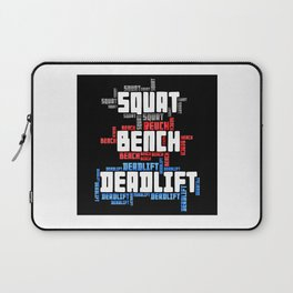 Squat Bench Deadlift Laptop Sleeve