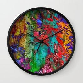 Abstract I<>X Wall Clock