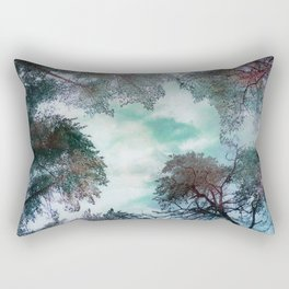 Reaching up Rectangular Pillow