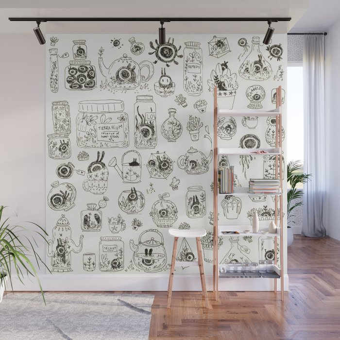 Terrariums Wall Mural