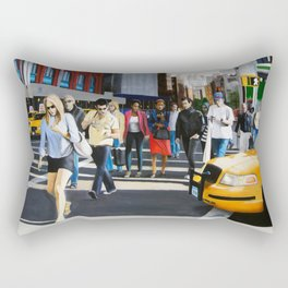 SoHo, New York City Rectangular Pillow