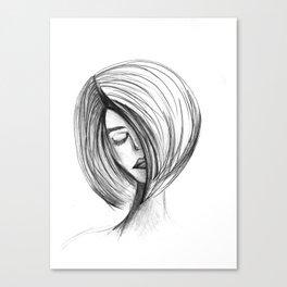 Girlie 01 Canvas Print