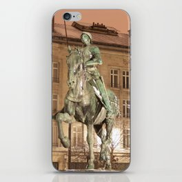 Joan of Arc Frozen in Time iPhone Skin