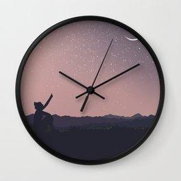Noite Wall Clock