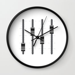 SOUND ENGINEER SILENCE SUCKS Sound Guy Gift Wall Clock