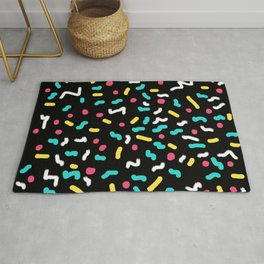 It's a 90s Party Rug