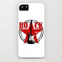 Grunge rock iPhone Case