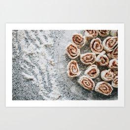 Cinnamon Rolls Art Print