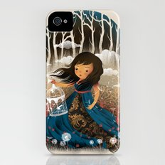 There Once Was A Girl In A Whimsical Land iPhone (4, 4s) Slim Case
