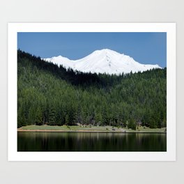 Lake Siskiyou Art Print