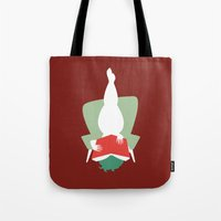 reading Tote Bags featuring Reading by Katrin Ewert
