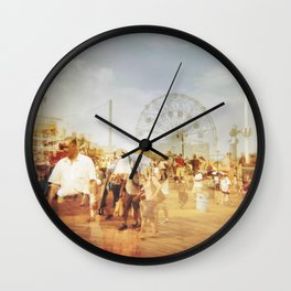 Coney Island #2 Wall Clock