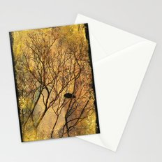 The Old Crow Stands Alone Stationery Cards