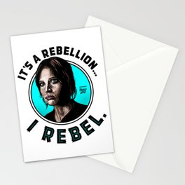 I Rebel. Jyn Erso, Rogue One. Stationery Cards