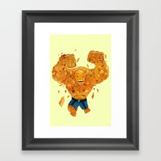 Leap of Doom Framed Art Print