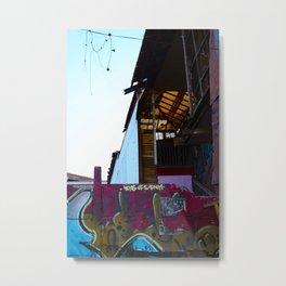 Valparaiso Street Metal Print