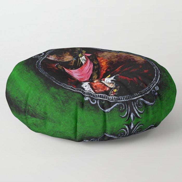 Alice in Wonderland Mad Hatter Floor Pillow