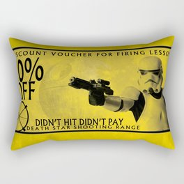 Stormtrooper coupon Rectangular Pillow