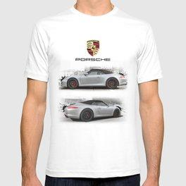 Cars: 911 Porsche Carrera GTS T-shirt