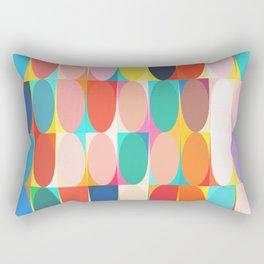 Colourful Dots Rectangular Pillow