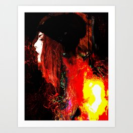Out of the Fire Art Print