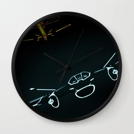 TRON LIGHT JET Wall Clock
