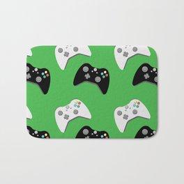 Video Game Controllers Bath Mat