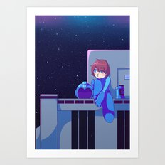 Megaman II  Art Print