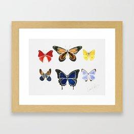 The Butterflies Framed Art Print