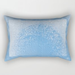 Melting frost and water condensation Rectangular Pillow