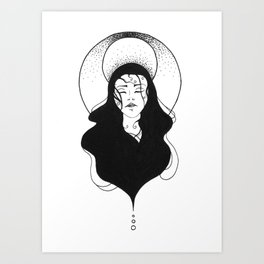 LunaSea Art Print