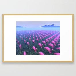 Plastic Invasion Framed Art Print