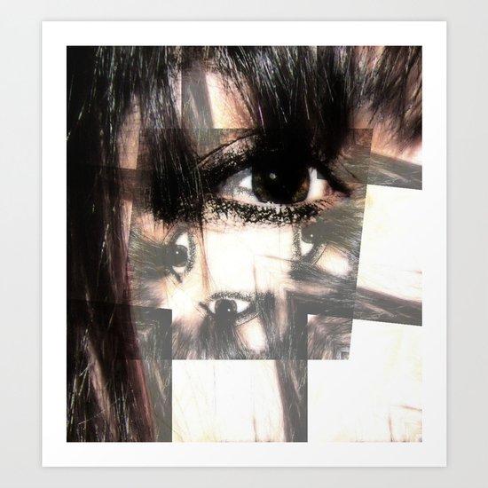 Eye got my eyes on you  Art Print