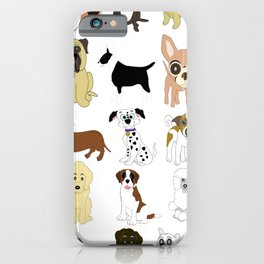 Pet dogs design iPhone Case
