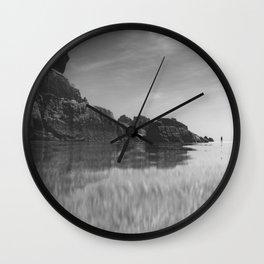 Reflective calm Wall Clock