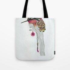 Pink Pajarita Tote Bag