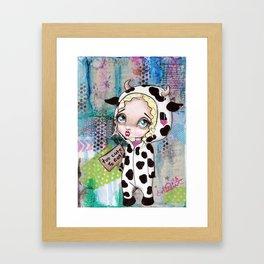 Too Cute To Eat Framed Art Print