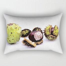 chestnut (Castanea) Rectangular Pillow