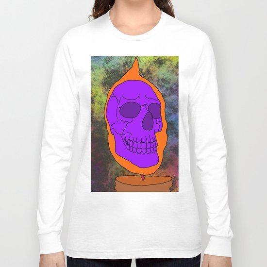 Halloween Skull Long Sleeve T-shirt