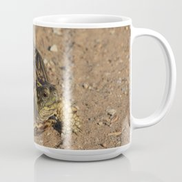 Kansas  Box Shell Turtle closeup Coffee Mug