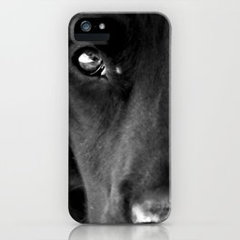 Loyalty  Black Lab  iPhone Case