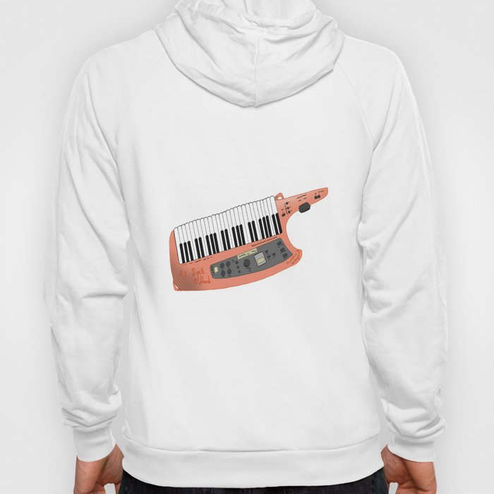 How Cool Can A Keytar Get? Hoody