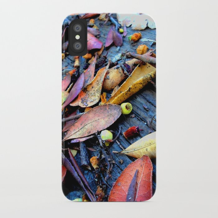 Leaves of a Strawberry Tree iPhone Case